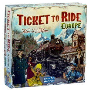 AKCIJA Stalo žaidimas Ticket to Ride, Europe
